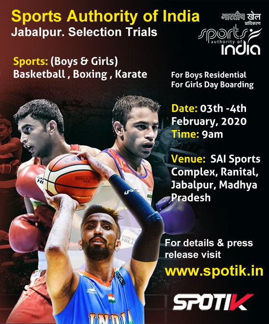 Selection Trails for Jabalpur, SAI Training Center