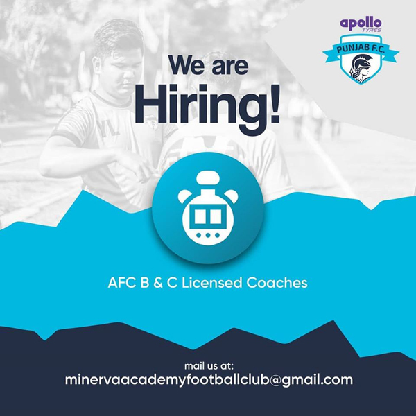 AFC B & C licensed Coaches