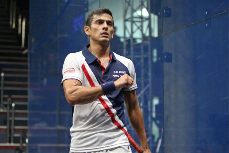 squash star Saurav Ghosal