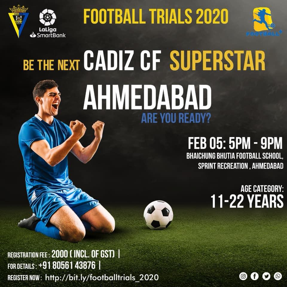 Football Plus Professional Soccer Academy CADIZ CF Trials