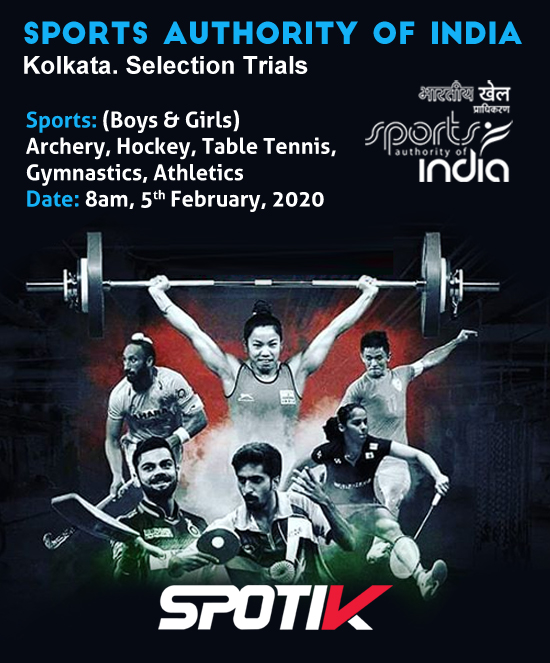 Kolkata, Sports Authority of India Selection Trials