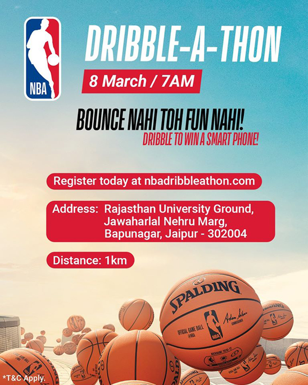 NBA Dribble-A-Thon, Jaipur