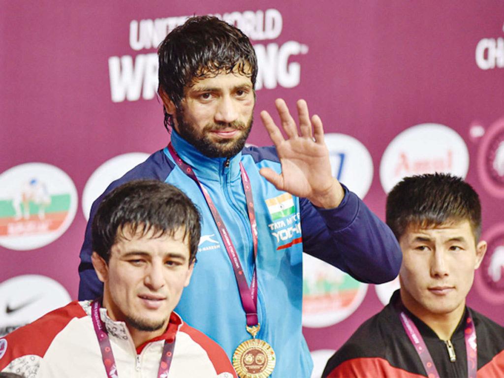 Ravi Dahiya wins gold