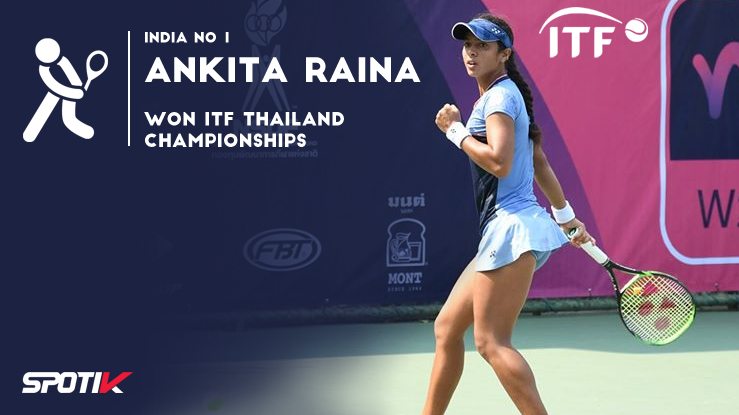 ITF Thailand Championships: Ankita Raina wins singles and doubles titles