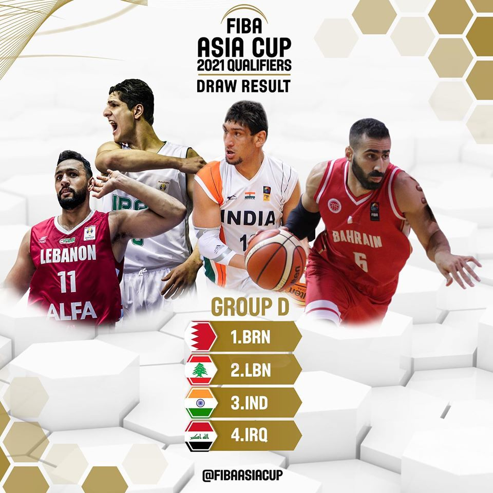 India at FIBA Asia Cup Qualifier