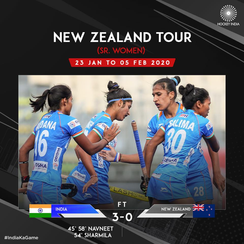 Hockey India New zealand Tour (Sr. Women)