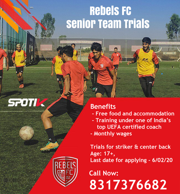 Rebels FC Trials