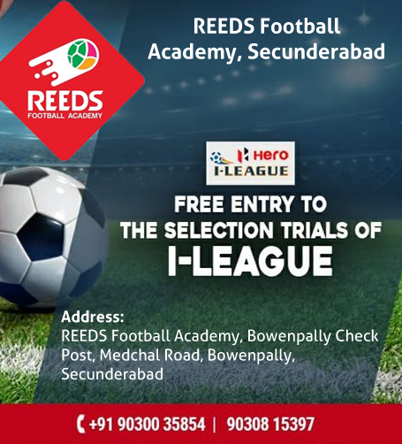 Reeds Football Academy Trails, Secunderabad
