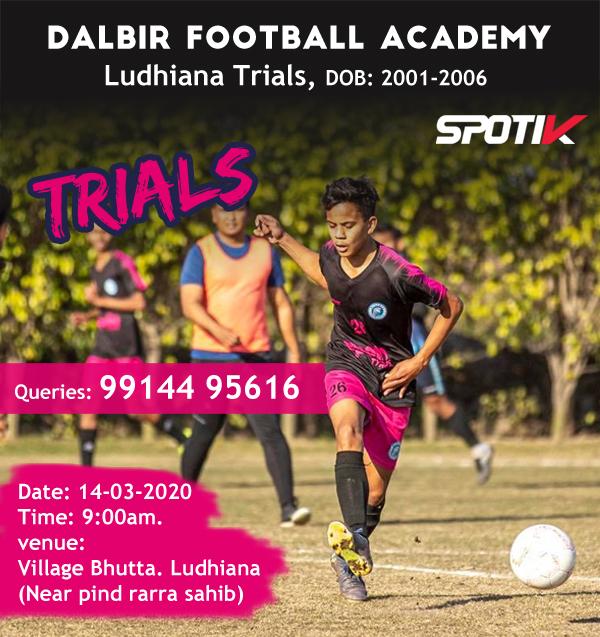 Dalbir Football Academy Ludhiana Punjab-