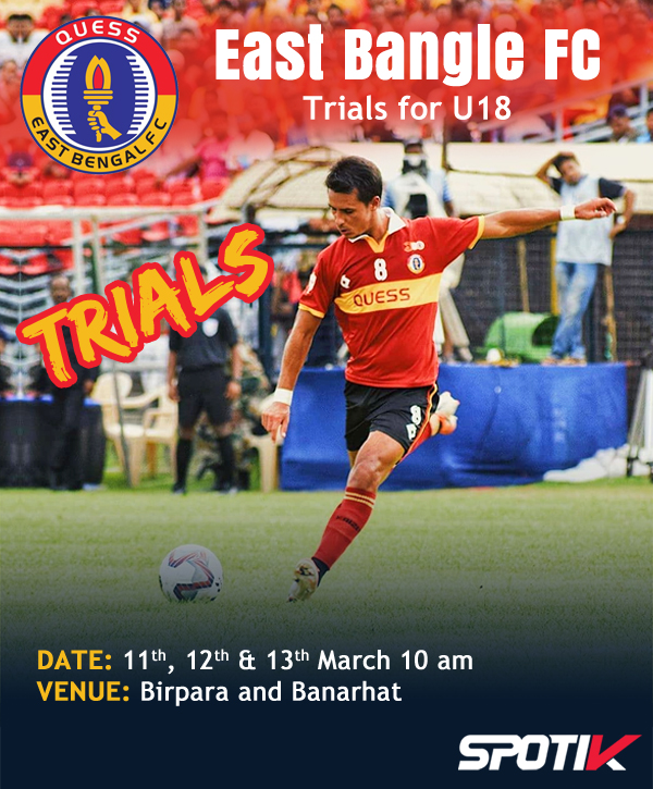 East Bengal FC Trials