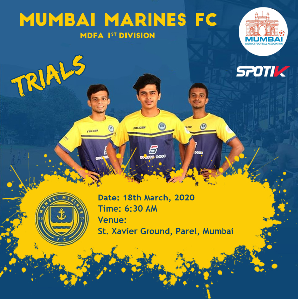 Mumbai Marines FC, Selection Trials