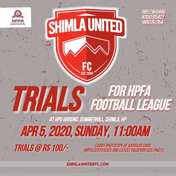 Shimla HPFA Football League