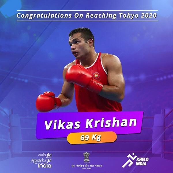 Vikas Krishan qualifies for Tokyo Olympic!