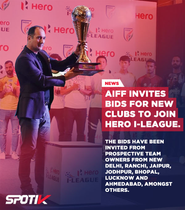 AIFF invites bids for new clubs