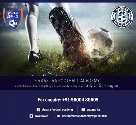 Aazura Football Academy, Chennai