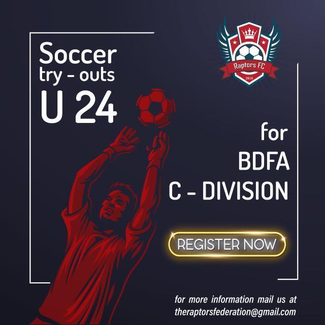 Raptors FC trials, C-Division Bangalore.