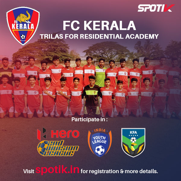 FC Kerala announce opening of Residential Football Academy