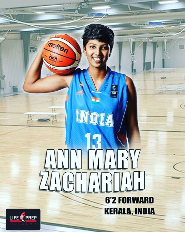 Ann Mary Zachariah Basketball