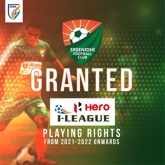 Sreenidhi FC Hero I-League