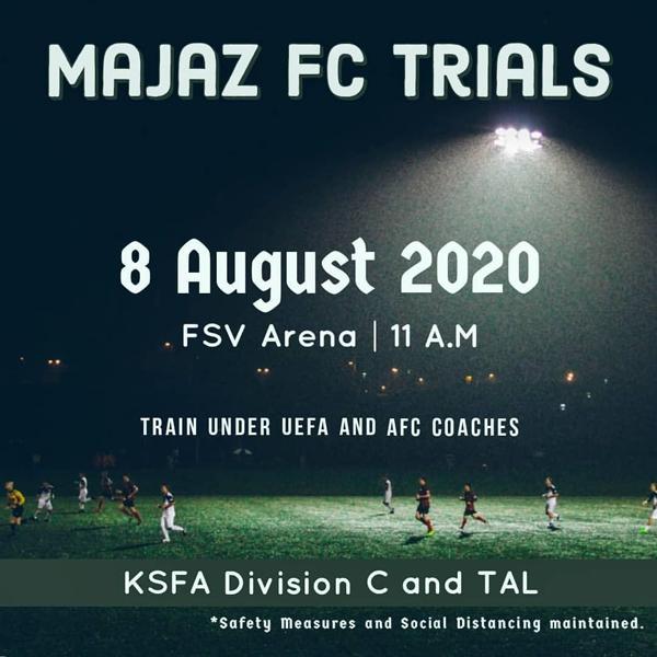 Majaz FC Trials , Bengaluru