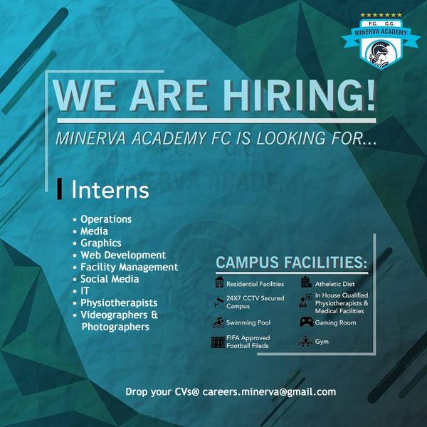 Minerva Punjab FC Hiring Interns