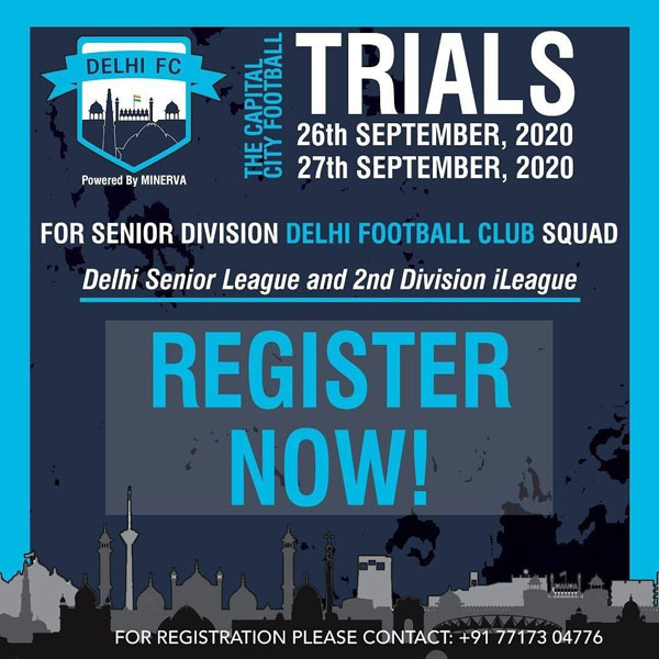 Delhi Football Club Senior Trials, New Delhi