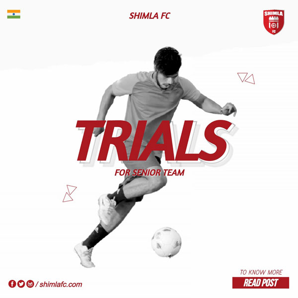Shimla FC is Trials