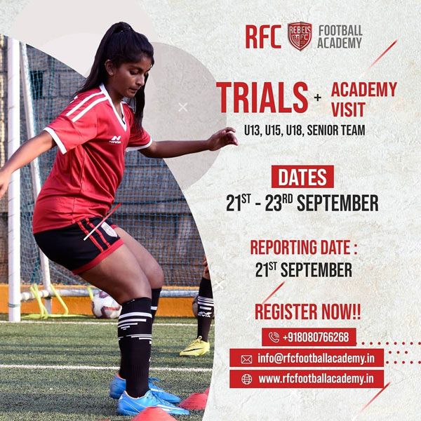 Rebels FC Girls Team Trials