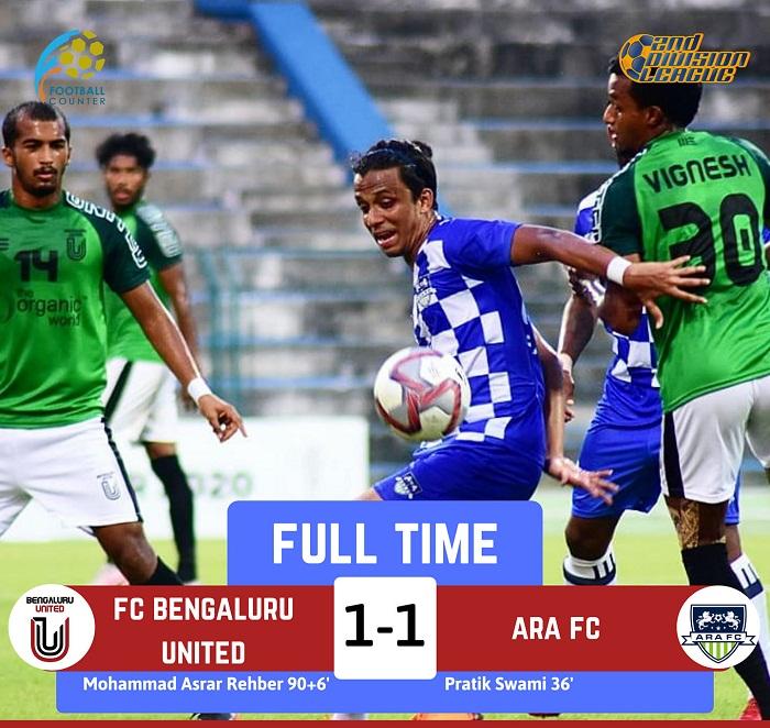 Bengaluru United vs ARA, Hero I-League Qualifier
