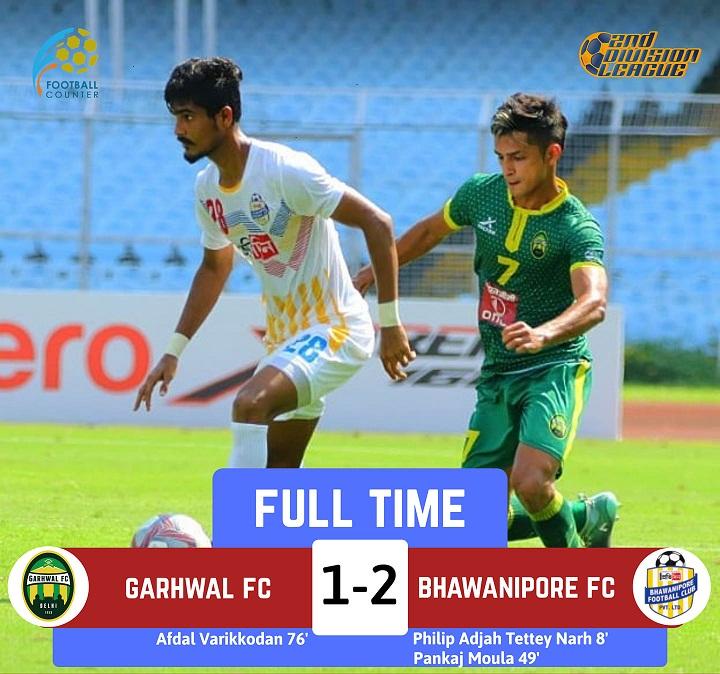 Bhawanipore 2-1 Garhwal FC