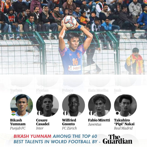 Bikash Yumnam becomes first Indian to make into The Guardian's Next Generation players