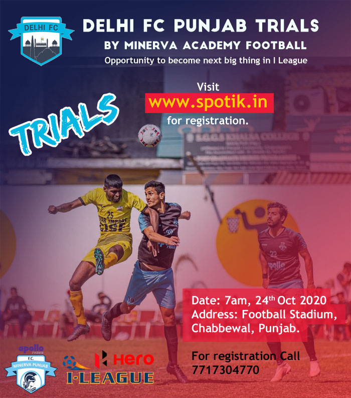 Delhi Football Club Punjab Trials