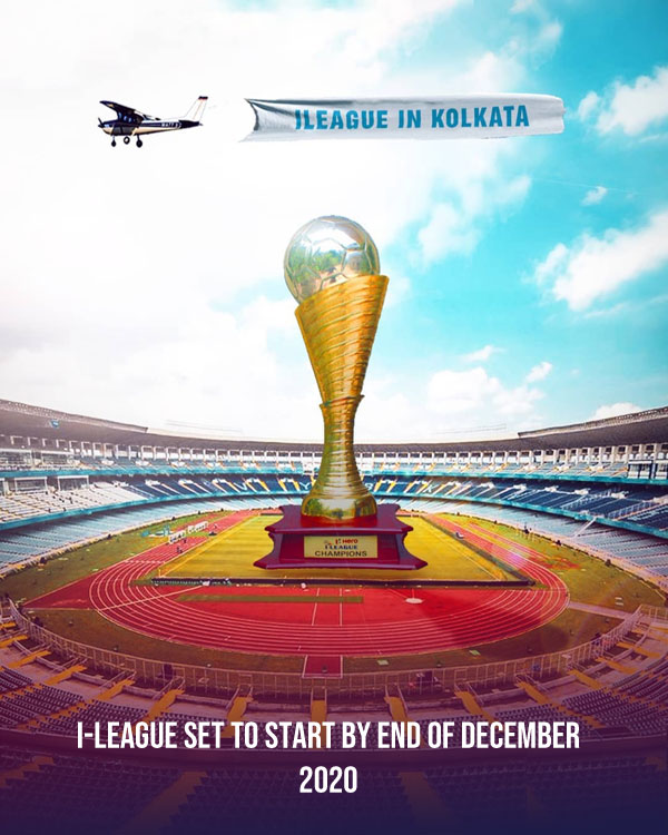 I-League likely to be postponed by one month, set to start by end of December.
