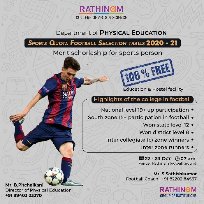 Rathinam College of Arts and Science