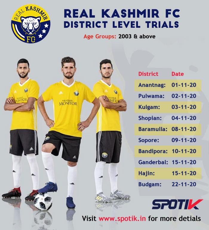 Real Kashmir FC District Level Trials