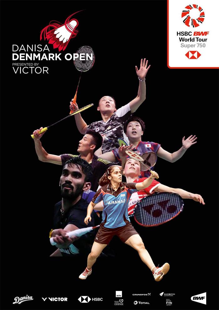 Saina Nehwal, Kidambi Srikanth Denmark Open