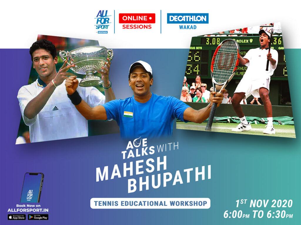 Tennis Educational workshop with Mr. Mahesh Bhupathi