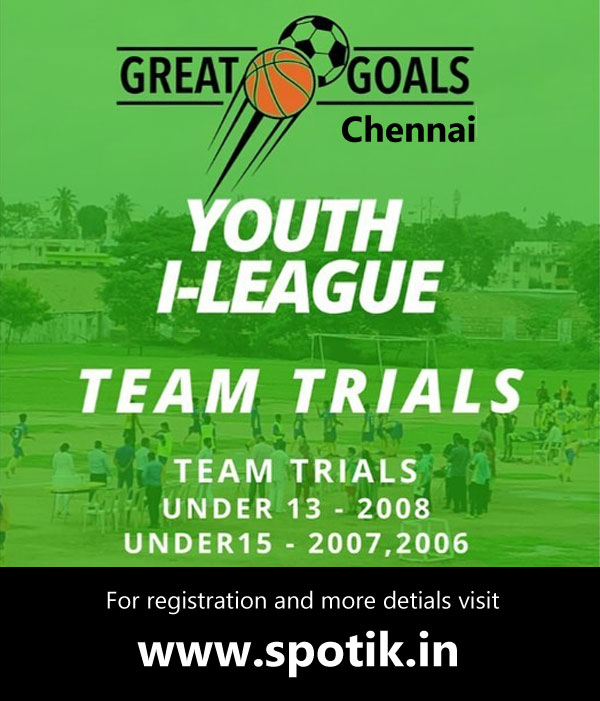 Great Goals Football Academy Trials, Chennai