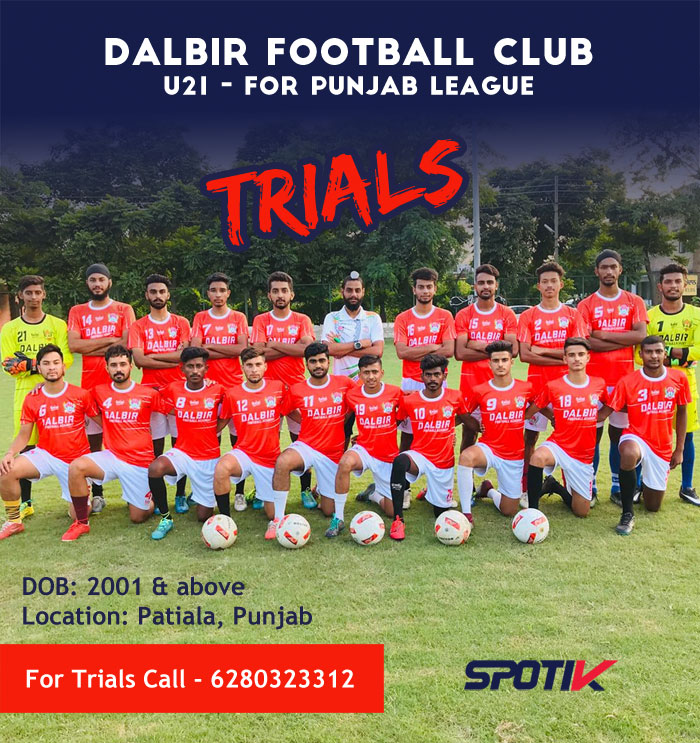 Dalbir Football Club Trials For Punjab League.