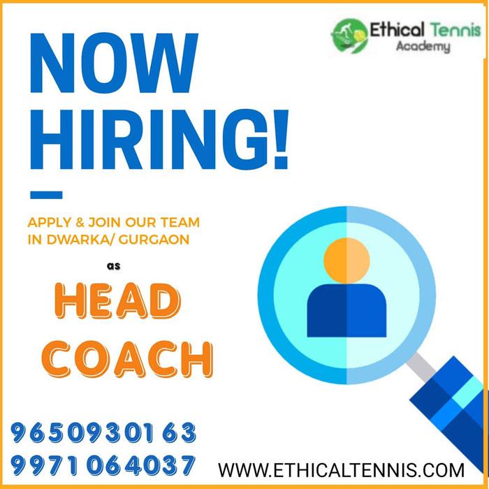 Tennis Academy Head Coach