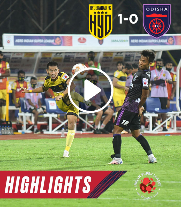 Highlights - Odisha FC 0-1 Hyderabad FC - Match 4 | Hero ISL 2020-21