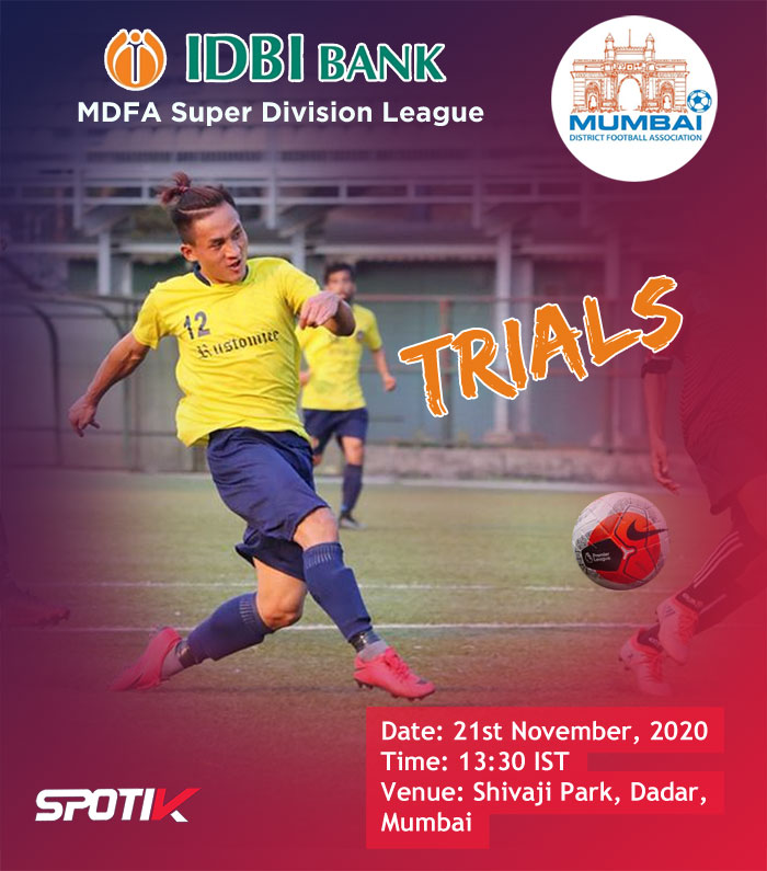 IDBI Bank trials for MDFA Super Division, Mumbai