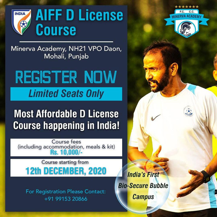 AIFF D License Course