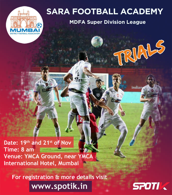 Sara FA, MDFA Super Div League Trials- Mumbai