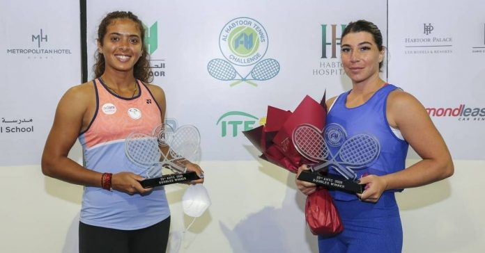 Ankita Raina lifts ITF doubles title at UAE