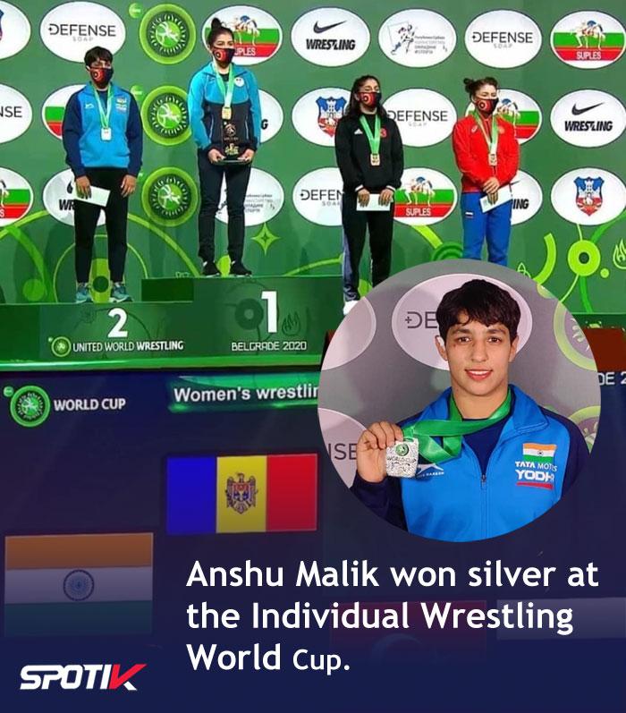Wrestler Anshu Malik