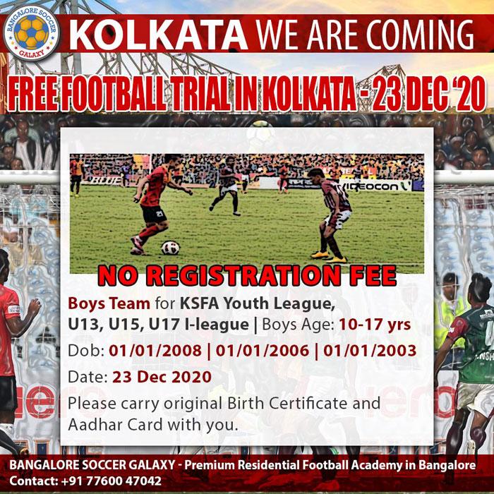 Bangalore Soccer Galaxy