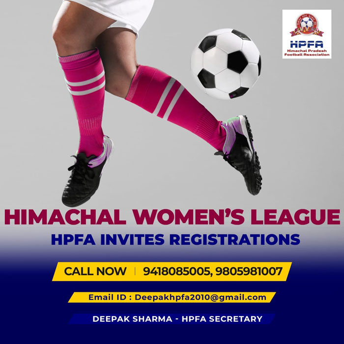 Himachal Pradesh Football Association Invites Registration For Women's League