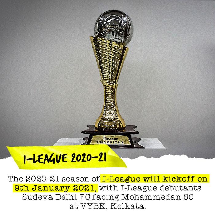 I-League 2020-21 Fixtures