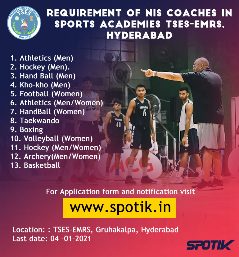 NIS Coaches in Sports academies